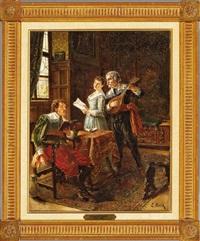 the musicians by eduard merk