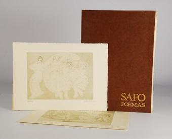 safo poemas by alberto duce