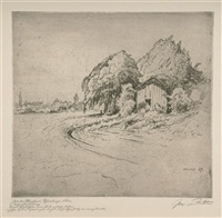 münchen, schwabinger flur; 2 works) by paul geissler