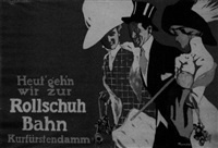 rollschuh-bahn by friedrich carl georg (fritz) rumpf