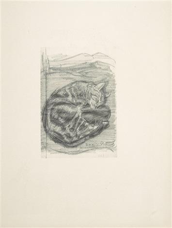 portfolio of cat sketches by théophile alexandre steinlen on artnet