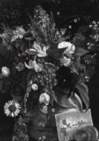 blumen in vase by eugène van gelder