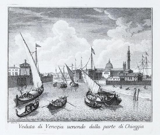 teatro delle fabriche piu cospicue in prospetiva della citta di venezia by francesco zucco