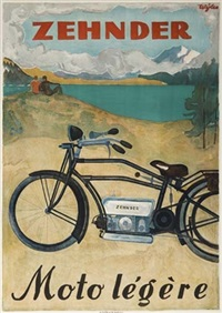 zehnder/moto légère by posters: motorcycles