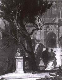 venezianische impression by august von kreling