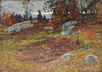 cloudy day, autumn, near newburyport, no. 1 by john joseph enneking