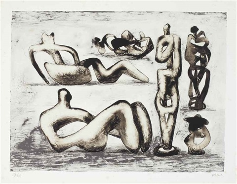 six sculpture ideas by henry moore