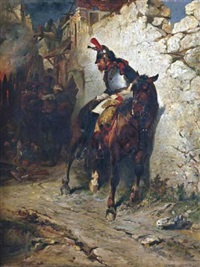 le cuirassier blessé by james alexander walker