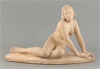 jeune femme nue by maurice de korte