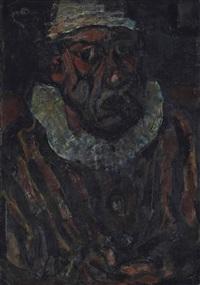 le clown by georges rouault