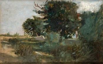 paisaje de valencia by joaquin sorolla y bastida