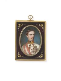 kaiser franz joseph i. von österreich (1830-1916) by georg raab