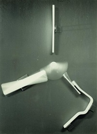 furniture study of charles and ray eames, shock mounts by herbert matter and charles and ray eames