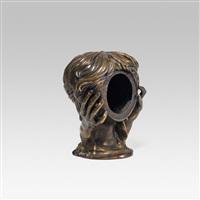 bronzekopf by helmut leherb