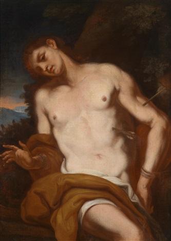 der heilige sebastian by johann karl loth