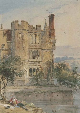 hever castle kent by charles tattershall dodd the elder