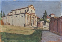 l'eglise de pianezza, piemonte by angelo abrate