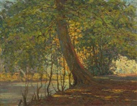 lakeside tree by william samuel horton