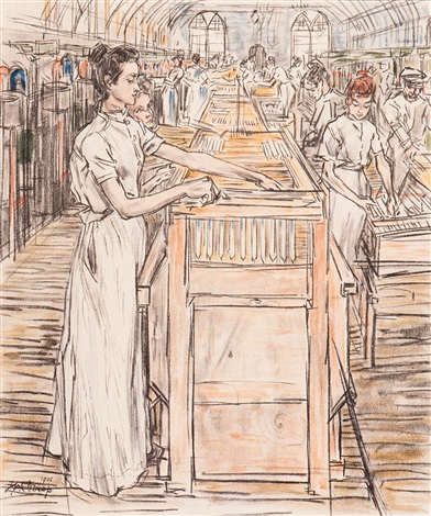 the candle factory by jan toorop