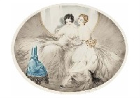 old yarn by louis icart