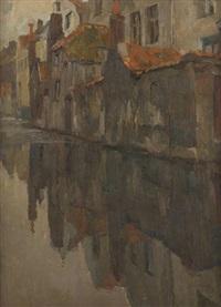 les eaux grises by albert baertsoen