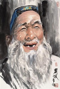 幸福 (figure) by zhou bo