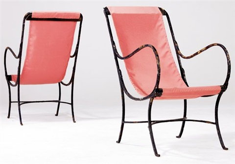 lounge chairs pair by morgan colt