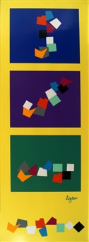 untitled rectangular composition by yaacov agam
