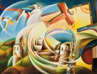 paesaggio di santo stefano medio by giulio d'anna