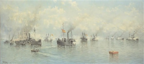 the battle of manila bay may 1 by alfonso sanz
