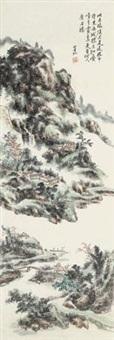 云霞叠嶂 by huang binhong