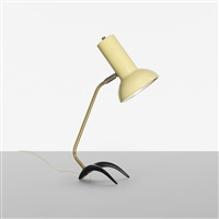 table lamp by louis christian kalff
