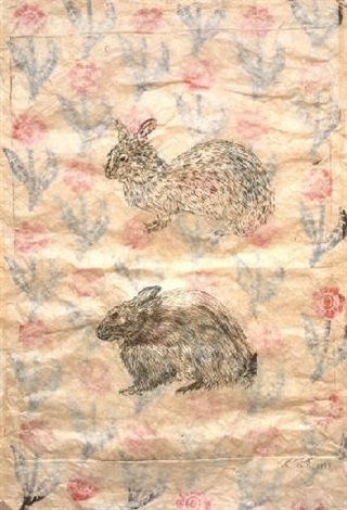 untitled rabbit by kiki smith