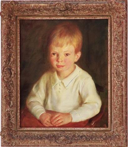 portrait of vincent serrano villard, jr (1935-1975) by john koch