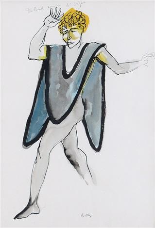 figura di uomo by renato guttuso