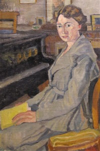 au piano by edmond bille