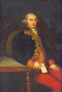retrato de d. pedro cifuentes y lópez de azcutia by joaquin x. inza