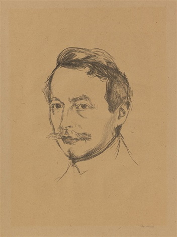dr max linde by edvard munch