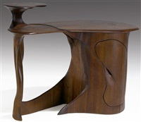 single-pedestal desk by david bennett