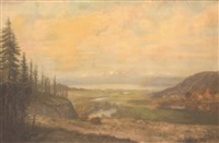 western landscape by peter baumgras