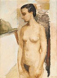 jeune femme nue by jozef homaeker