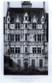 french châteaux (6 works) by victor jean baptiste petit