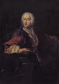 ritratto di gentiluomo by jacques andré joseph aved