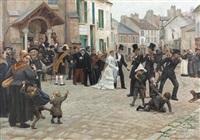 hochzeit in epinay-sur-seine by gabriel-charles deneux