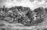 the vale, hampstead by archibald ziegler