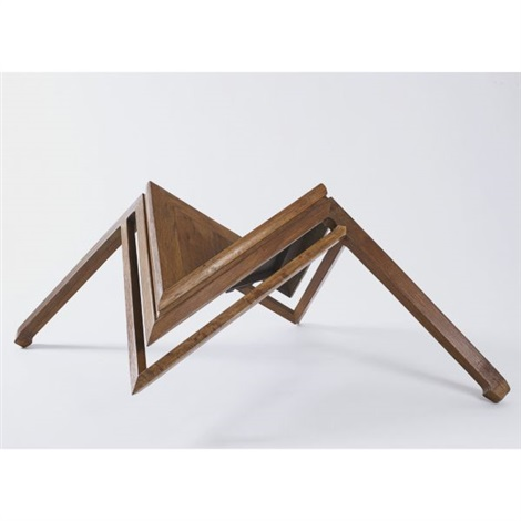 table with two legs by ai weiwei