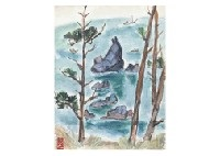 kushimoto landscape by katsuyuki nabei