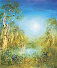 untitled (nude bathing) by david boyd