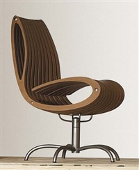 prototype swivel chair by klaus muller