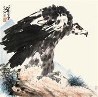 雄鹰 by xu chunyuan